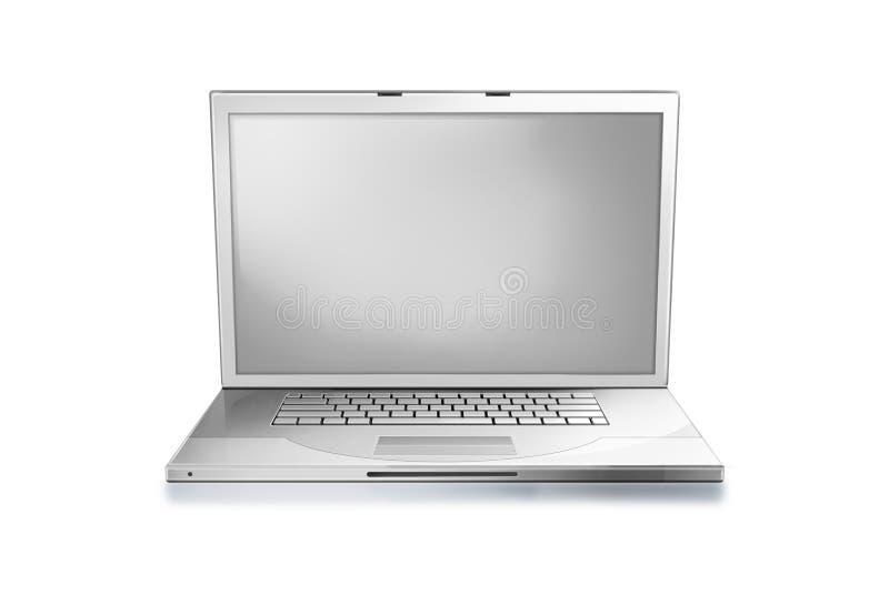 Download Computador portátil ilustração stock. Ilustração de líquido - 12812259