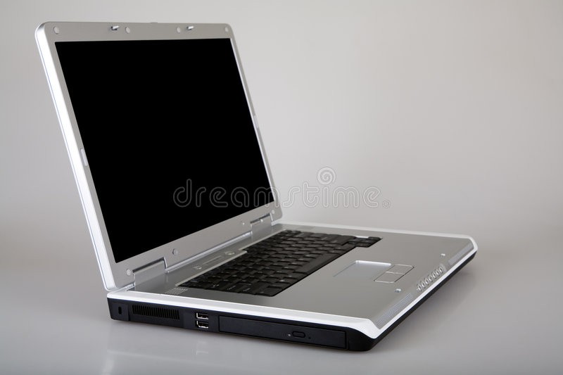 Computador portátil fotografia de stock royalty free