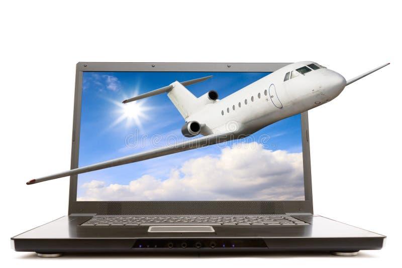 Download Computador Portátil Moderno Foto de Stock - Imagem de céus, pessoal: 16858188