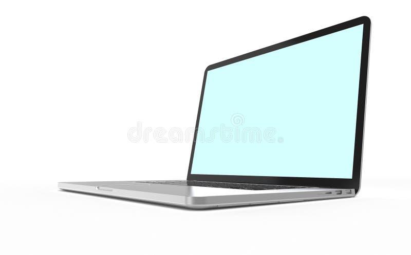 Computador portátil moderno fotografia de stock royalty free