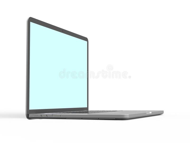 Computador portátil moderno imagem de stock royalty free