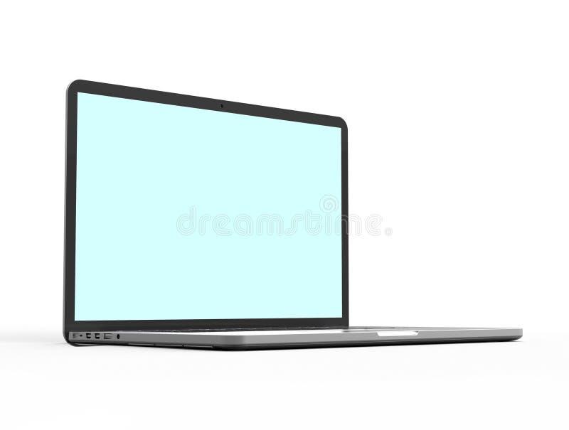 Computador portátil moderno imagem de stock