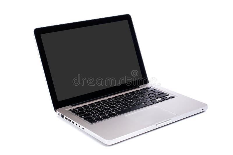 Computador portátil moderno foto de stock royalty free
