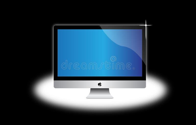 Computadora de escritorio del imac de Apple libre illustration