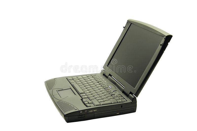 Computadora portátil imagen de archivo libre de regalías