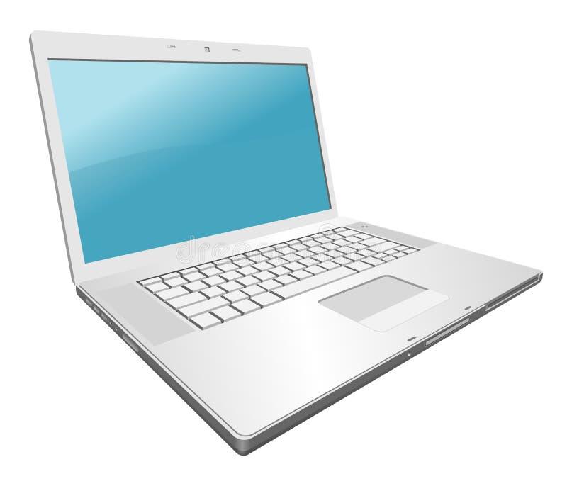 Download Computadora portátil ilustración del vector. Ilustración de plano - 7277917