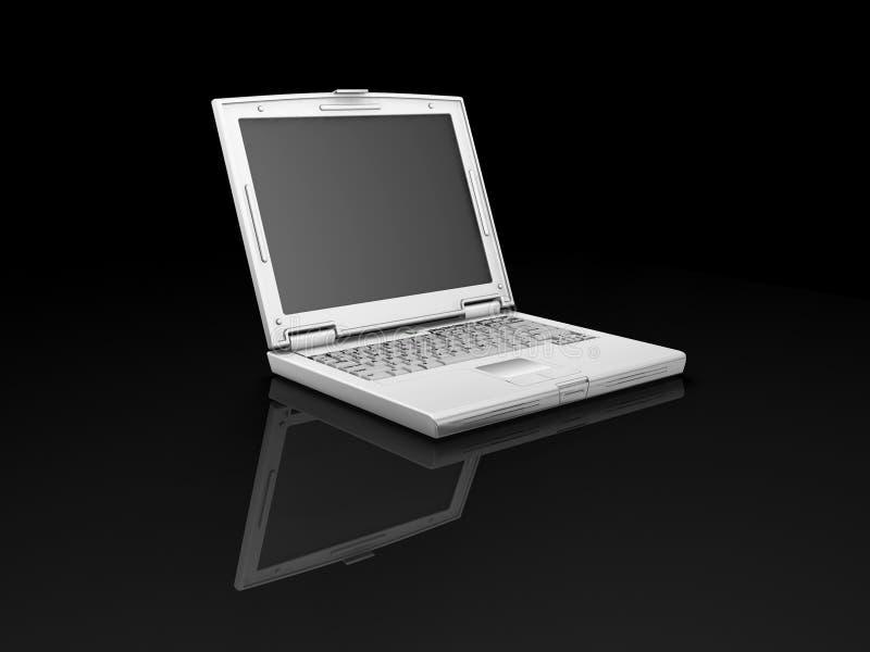 Computadora portátil ilustración del vector