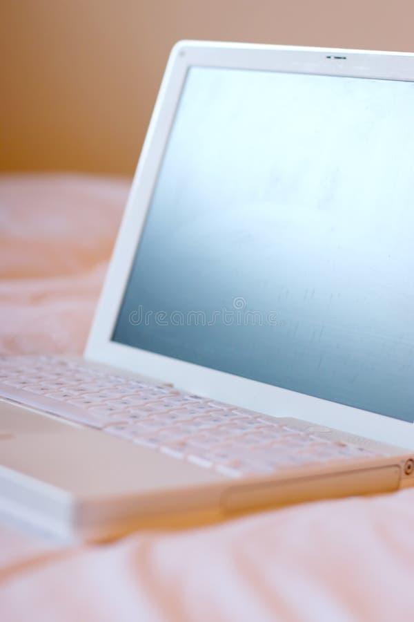 Computadora portátil, abierta imagenes de archivo