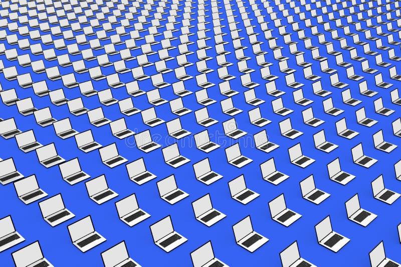 Computadores ilustração do vetor