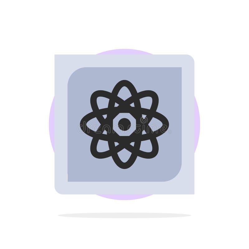 Computation, Computer, Computing, Data, Future Abstract Circle Background Flat color Icon vector illustration