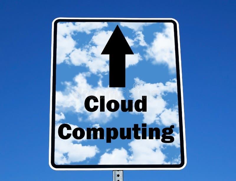 Computazione della nube immagine stock libera da diritti