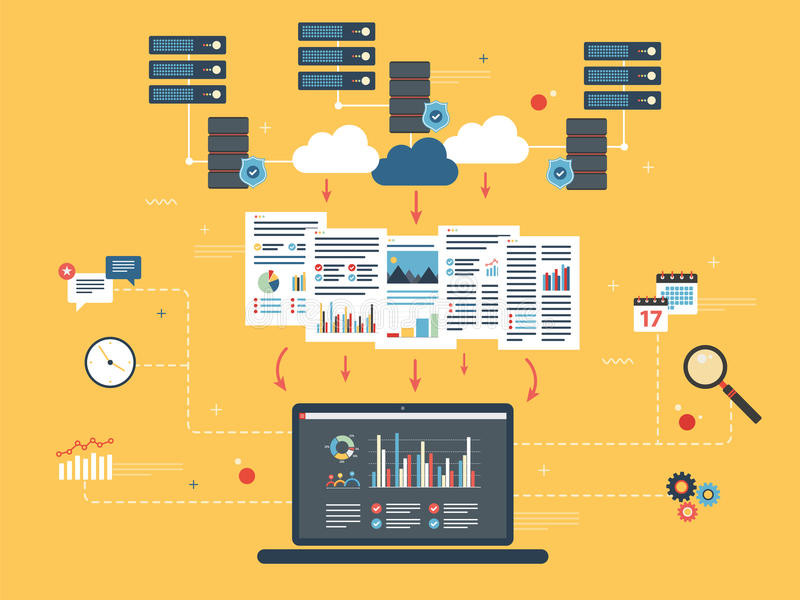 Computazione della nuvola, analisi dei dati grande e data mining