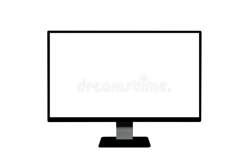 Computerbildskärm royaltyfria foton