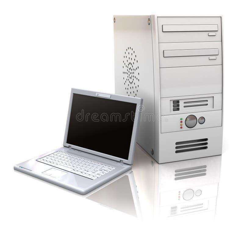 Computer stock abbildung