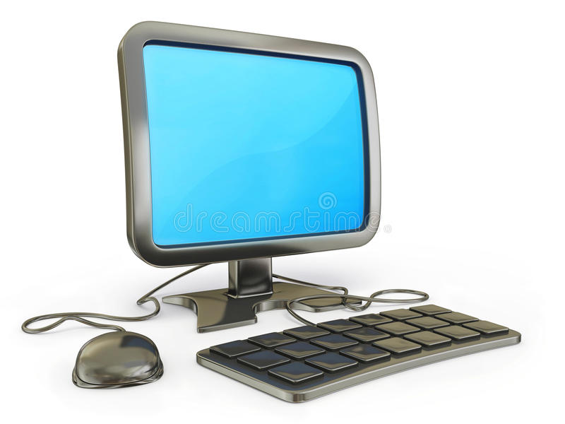 Download Computer stock illustration. Image of equipment, electronic - 25930138