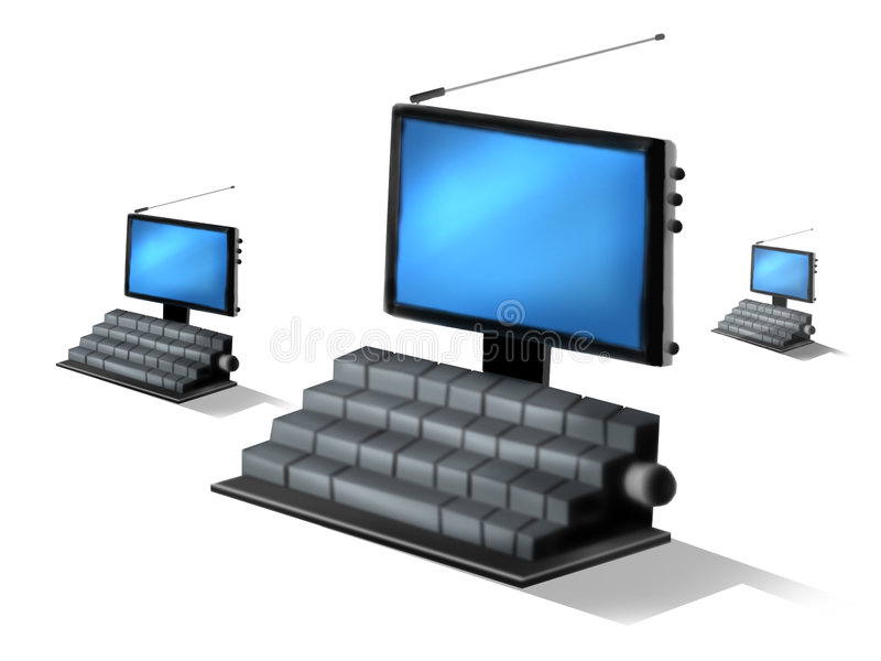 Download Computer Royalty Free Stock Photos - Image: 344168