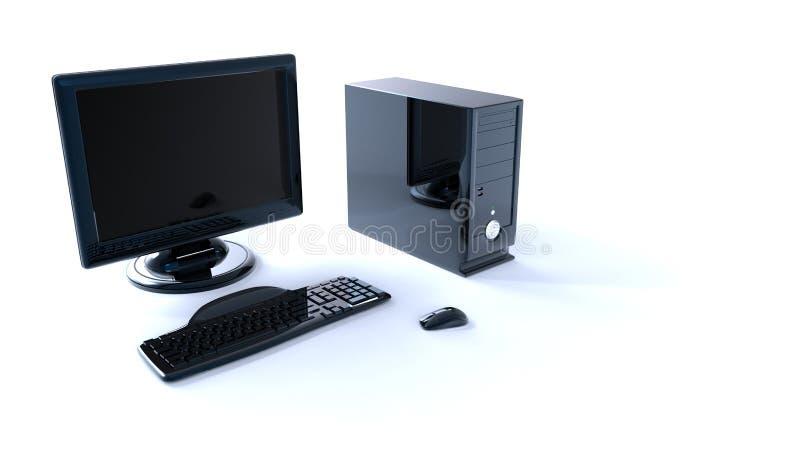 Computer 3d stock abbildung