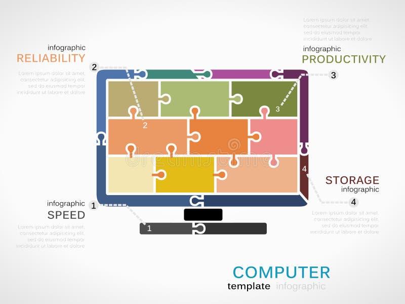 Computer stock illustratie