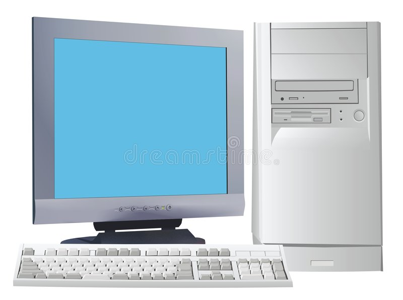 Download Computer stock illustration. Illustration of color, technology - 456487
