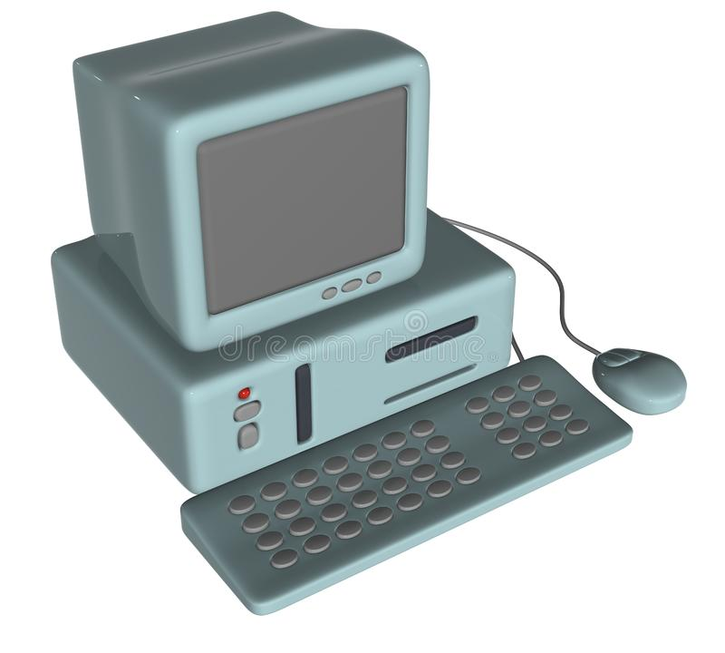 Computer immagine stock