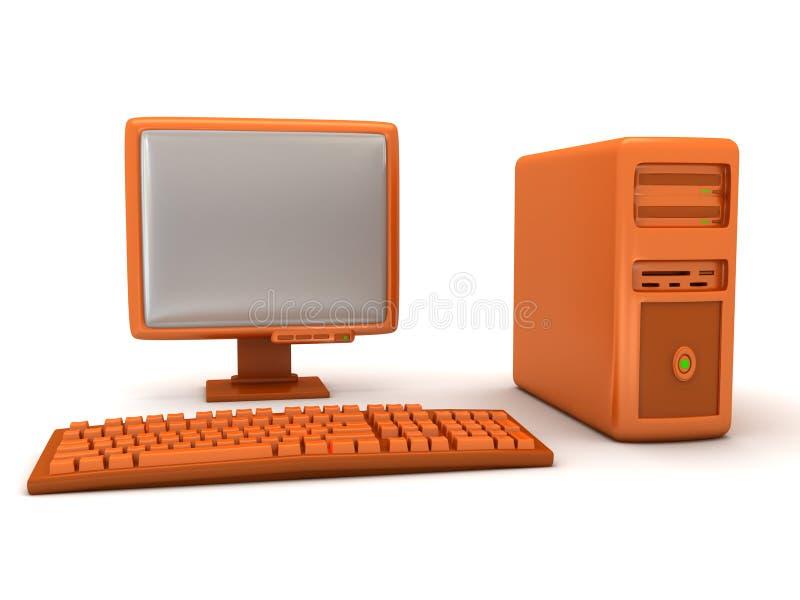 Computer vector illustratie