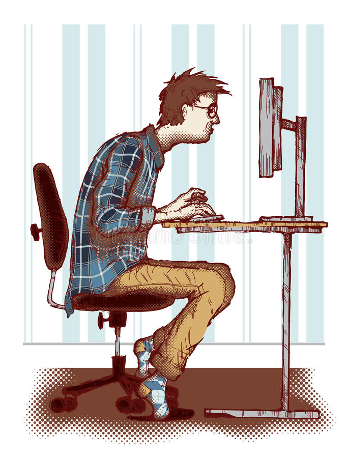 Download Computer Addiction Stock Images - Image: 31283834