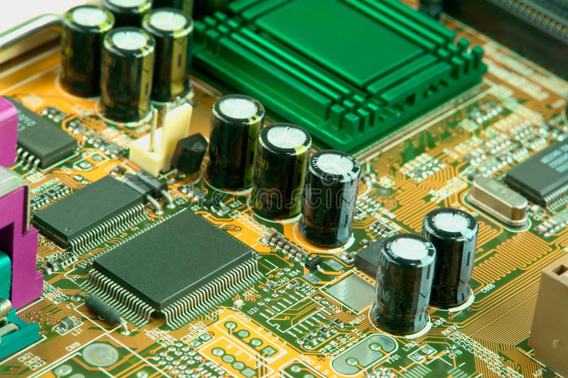 Computer Board royalty free stock photos