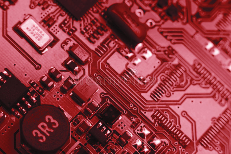 Download Computer Board With Chips Stock Photography - Image: 7696142