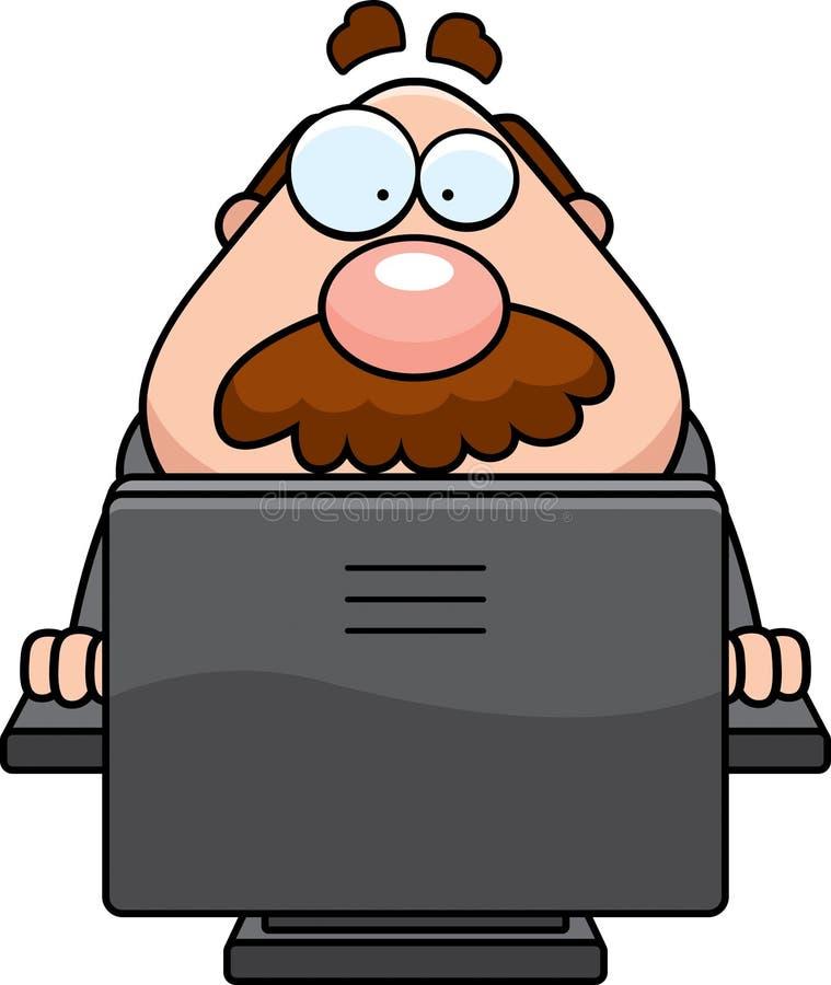 Computer Boss Stock Photo