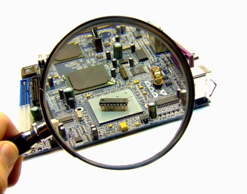 Download Computer bug stock photo. Image of magnifying, closeup - 1869834