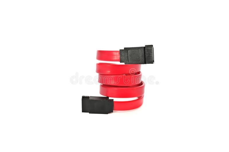 Computer cables and adapters connector stock photo