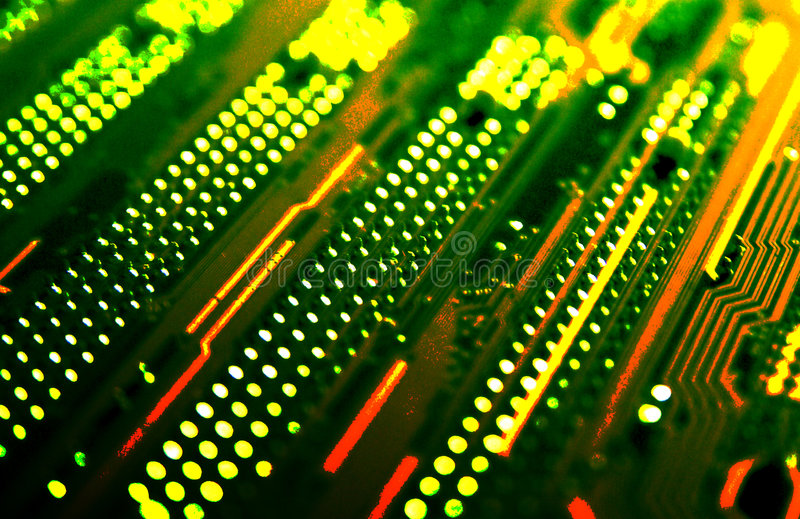 Download Computer card stock photo. Image of central, artificial - 5864252