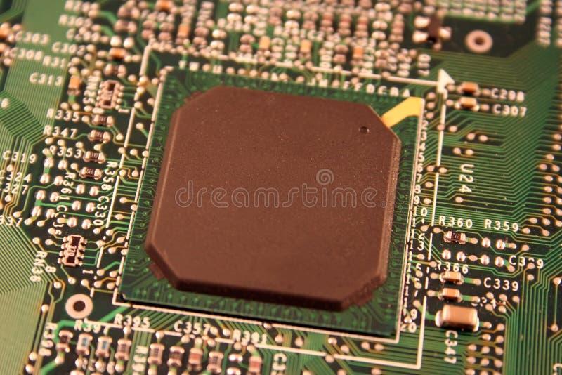 Computer-Chip lizenzfreie stockfotografie
