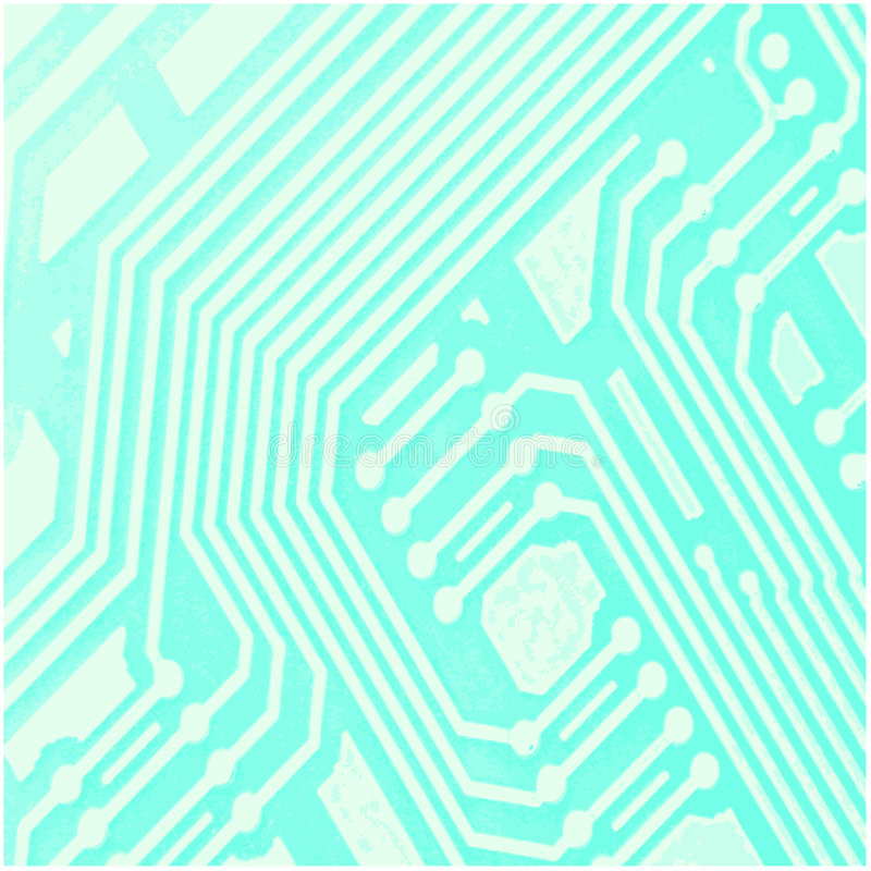 Computer Chip Background stock illustration