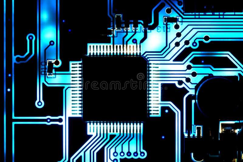 Computer chip royalty free stock photos