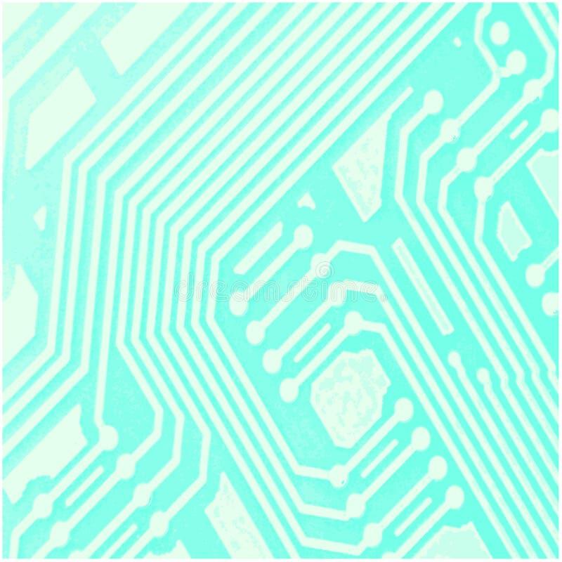 Computer-Chip-Hintergrund stock abbildung