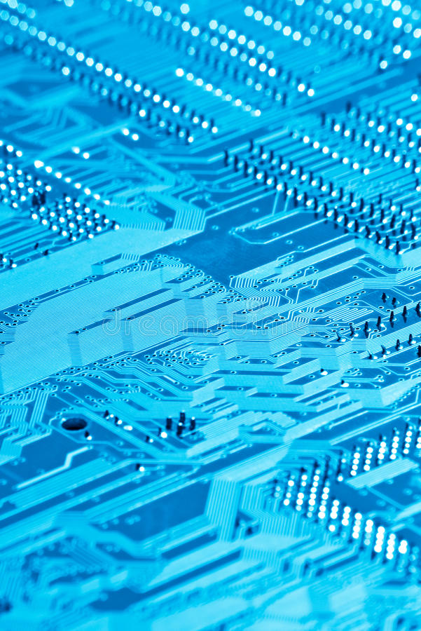 Computer circuit royalty free stock photo