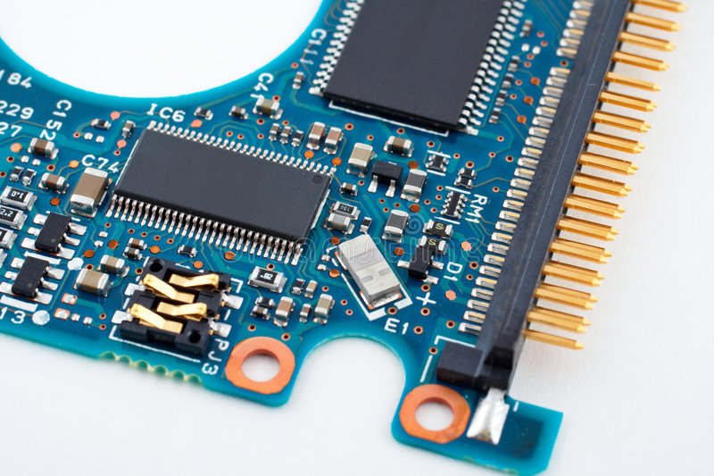 Download Computer circuit board stock photo. Image of electrical - 1033538