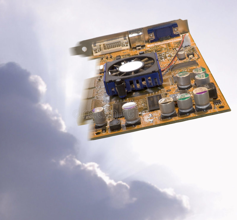 Download Computer circuit board stock photo. Image of electronics - 1389260