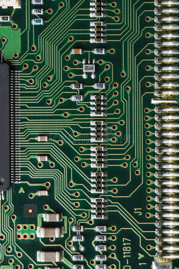 Download Computer circuit board 2 stock photo. Image of connection - 563890