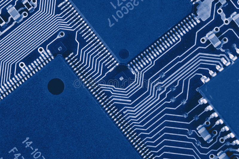 Download Computer Circuit Board stock photo. Image of electric - 2813012