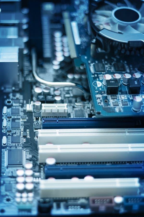 Download Computer Circuit Board stock image. Image of metal, computer - 9623649