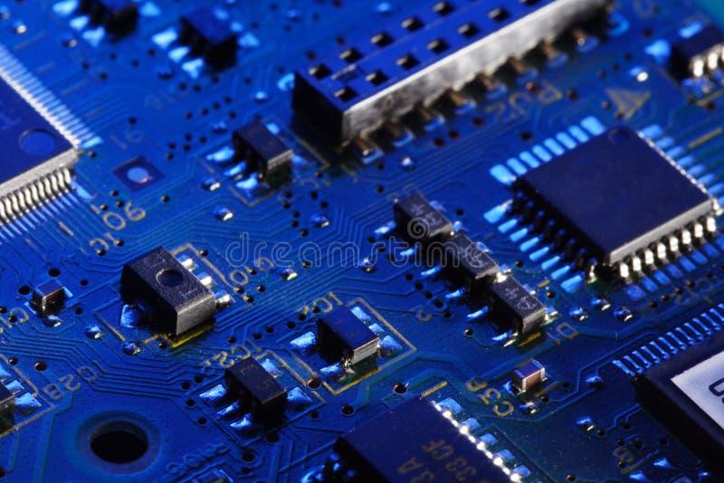 Computer Circuit Card Stock Image