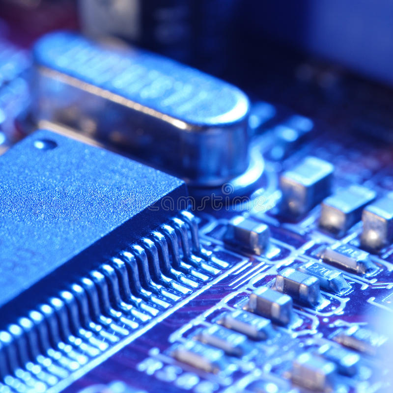 Download Computer Circuit Card Stock Photo - Image: 9594620