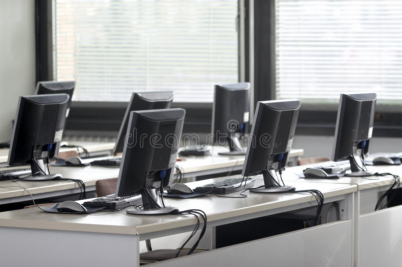 Download Computer classroom stock image. Image of business, empty - 8626021