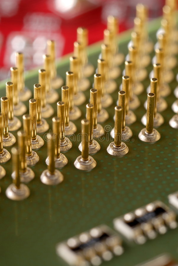 Computer CPU stockfoto
