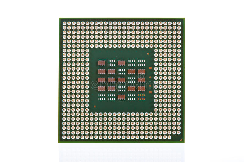 Download Computer CPU Isolated On White Background Stock Photo - Image: 11973440