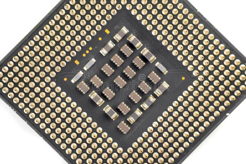 Download Computer CPU unit closeup stock image. Image of green - 34494529