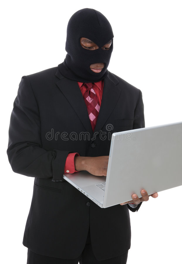 Download Computer Crime stock image. Image of business, isolated - 7552303