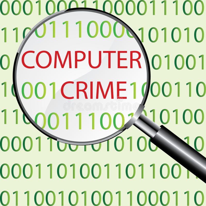 Download Computer crime concept stock vector. Image of connection - 34888982